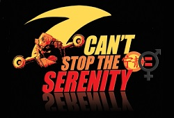Can't Stop the Serenity Logo